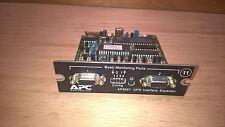 TESTED APC AP9607 UPS Interface Expander Card RS-232 Serial Basic Port AP-9607