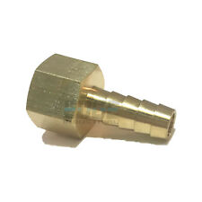 3/8 HOSE BARB X 3/8  FEMALE NPT Brass Pipe Fitting NPT Thread Gas Fuel Water Air