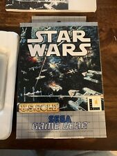 Sega Game Gear Star Wars Video Game Lucas Arts U.S. Gold Complete In Box