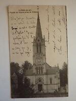 CPA - SEINE INFERIEURE - CLERES - façade de l'église prise du château