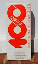 1986 Root Commemorative Coca-Cola Hobbleskirt Coke Bottle Centennial Celebration
