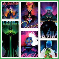 Disney Collect Topps Digital - Disney Villains Electrified Evil w/award * GDL