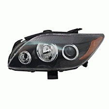Fit 05-10 Scion tC Left Driver Side Headlamp w/grey bezel w/projection high beam