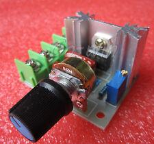 1PCS 2000W 220V AC SCR Electric Voltage Regulator Motor Speed Control Controller