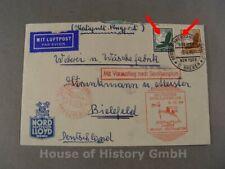 122194, Brief, Katapult-Flugpost, Deutscher Schleuderflug 1934, Vorausflug