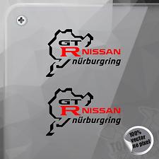 PEGATINA NURBURGRING NISSAN GT R VINYL DECAL VINYL STICKER AUTOCOLLANT