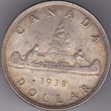 CANADA 1938 SILVER dollar $1 Georges VI Coin