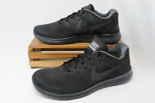 Nike Free RN 2017 Running Shoes Black Anthracite Gray 880839-003 Men's NEW
