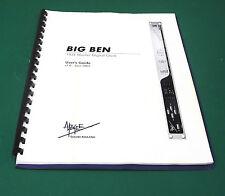 Apogee Big Ben User's Guide. MN