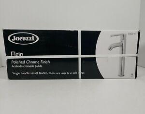 Jacuzzi Elgin Polished Chrome 1-Handle Vessel WaterSense Bathroom Sink Faucet