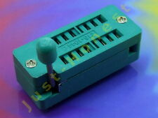 Point socle 16 broches DIP 16 socket IC, MCU; 0,3 pouces; 7,62 mm #a742