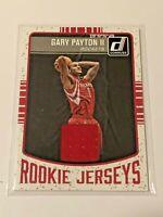 2016-17 Donruss Basketball Rookie Jerseys - Gary Payton II RC - Houston Rockets