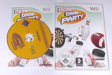 "Nintendo WII Gioco ""more GAME PARTY"" COMPLETO"