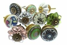 Mixed Set of Shabby Chic Vintage Style Ceramic Cupboard Knobs x Pack 10 (MG-260)