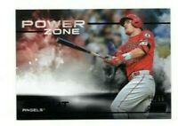 2019 Topps Stadium Club MIKE TROUT POWER ZONE BLACK PARALLEL 98/99 ANGELS PZ-2