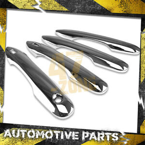 For 2018-2020 Toyota Camry Chrome Door Handle Cover Overlays w/ Smart Key Cut