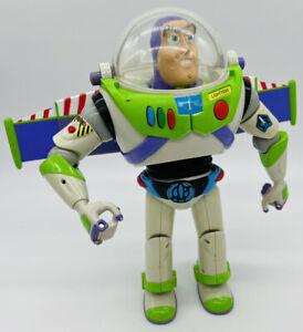 "12"" Buzz Lightyear with Utility Belt Hasbro Disney Pixar 2001 Talking Action"