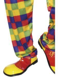 Clown Shoes Adult Unisex Smiffys Fancy Dress Footwear