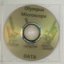 OLYMPUS microscope data manuals guides vintage reference materials brochures