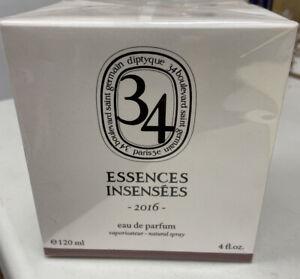 Diptyque Essences Insensees Rose de Mai Perfume 4oz Sealed