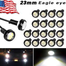 20x15W 12SMD 23mm LED White Eagle Eye Back Up Reverse Daytime Running Light Bulb