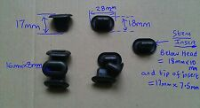 EX148F LAND ROVER AZP500031 FRONT GRILLE CLIP x5 RANGE ROVER SPORT 2006-2009