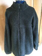 Man's Dark Grey Fleece Top- size XL