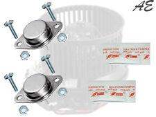 Kit réparation Pulseur d'air Chauffage ventilation: 2 transistors MJ11015