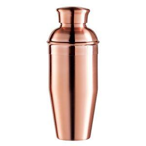 OGGI New Copper Cocktail Shaker w/Built In Ice StrainerStainless Steel 26oz