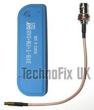 Nueva versión R820T2 Sintonizador RTL2832U RTL-SDR Memoria USB + Pigtail Bnc