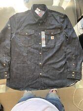 Carhartt FR Long Sleeve Denim Work Shirt PPE 3XL RRP £93