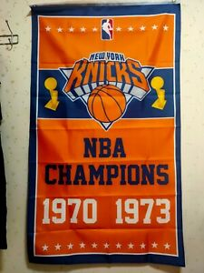 New York Knicks World Champions Flag 3X5 FT NBA Banner Polyester FAST SHIPPING!!