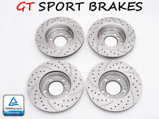 4 GT DISQUES DE FREIN AVANT GT2510 + ARRIERE GT1134 DODGE CALIBER 1.8-2.4 06-