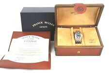 FRANCK MULLER 8001 L SC CONQUISTADOR WATCH AUTOMATIC SS  ACCURATE W/BOX & PAPERS