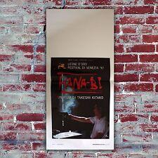 Film Poster Hana-Bi Locandina Originale 33x70 CM Takeshi Kitano