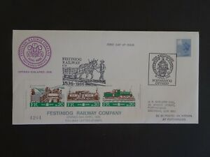 RWC Festiniog Railway Co. Railway Letter Stamps First Day Cover 1985