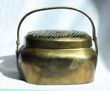 Antique Chinese Brass Hand warmer