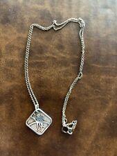 Nike Women's Marathon SF 2007 Tiffany & Co. Sterling Silver Pendant Necklace