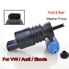 For VW Polo Scirocco Sharan Tiguan Touran Front Rear Wiper Washer Motor Pump