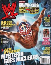 WWE Magazine Holiday 2010 Ray Mysterio w/Poster EX 121015DBE