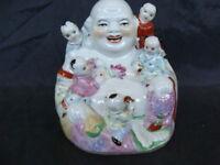Statua Budda in ceramica arte orientale old vintage
