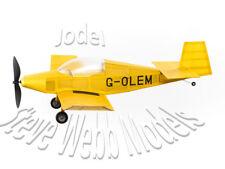 1x Magnificent Flying Machines Balsa Flying Scale Model Jodel D-18 Kit,Plan,Glue