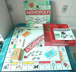 MONOPOLY ORIGINAL SPEED DICE VERSION BOARD GAME - 100% CHECKED & COMPLETE