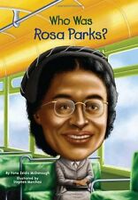 Who Was Rosa Parks? (pb) by Yona Zeldis - Civil Rights NEW