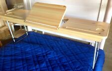 FLEXA OVER BED LAP TABLE WITH TILT TRAY FOR TWIN BED-GREAT DEAL! NIB