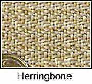Glass Fusing Supplies Lava Cloth - Herringbone Pattern  300mm x 300mm