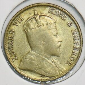 Straits Settlements 1910 10 Cents 153219 combine shipping