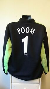 Derby County Goalkeeper Football Shirt Jersey 2001-2002 POOM 1 Large