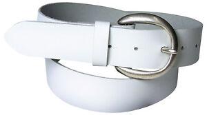 FRONHOFER Women's belt, khaki, cream, bordeaux, cognac, semi-circular buckle