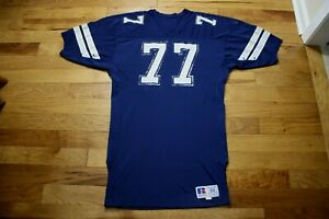 Jim Jeffcoat 1980's Dallas Cowboys player/game used jersey with team LOA